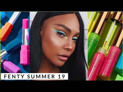 NEW FENTY BEAUTY LINERS, LIPSTICKS, LIP BALM REVIEW | SONJDRADELUXE thumbnail