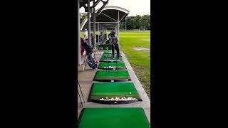 필리핀골프 - 이글릿지골프장 연습장 풍경