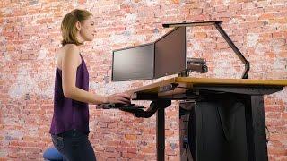 UPLIFT Height Adjustable Standing Desk