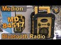Review: Medion MD84517 / Outdoor Bluetooth Lautsprecher & UKW-Radio für Baustelle, Heimwerken, etc