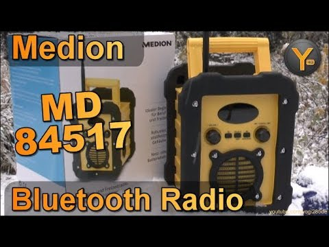 Review: Medion MD84517 / Outdoor Bluetooth Lautsprecher & UKW-Radio ...