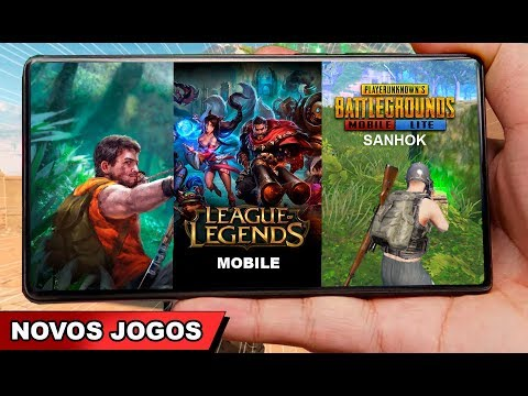 LOL Mobile OFICIAL, Saiu PUBG LITE 0.14 e novos jogos ANDROID 2019