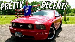 2007 Ford Mustang GT Review: Pretty Decent!