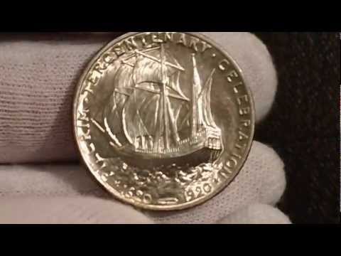 INCREDIBLE 1920 Pilgrim Early Commemorative Half Dollar - Popular Low Mintage Rarity!