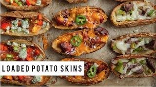 Stuffed Potato Skins Recipe
