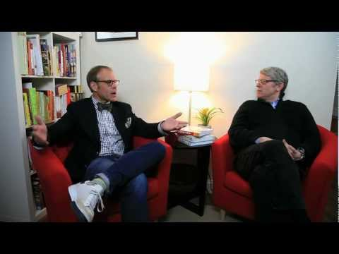 Chewing the Fat: Alton Brown & Ed Levine, Part I