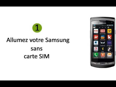 deblocage d`un téléphone portable Samsung Wave 2