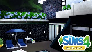 CELEB BEACH HOUSE | The Sims 4 Island Living Modern Home Speed Build