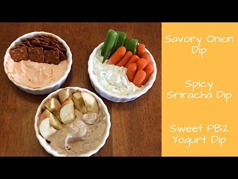 Weight Watchers Recipe Share | Low Point Yogurt Dips