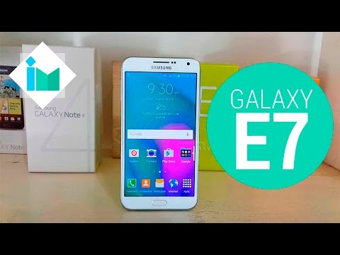 Samsung Galaxy E7 - Review en español