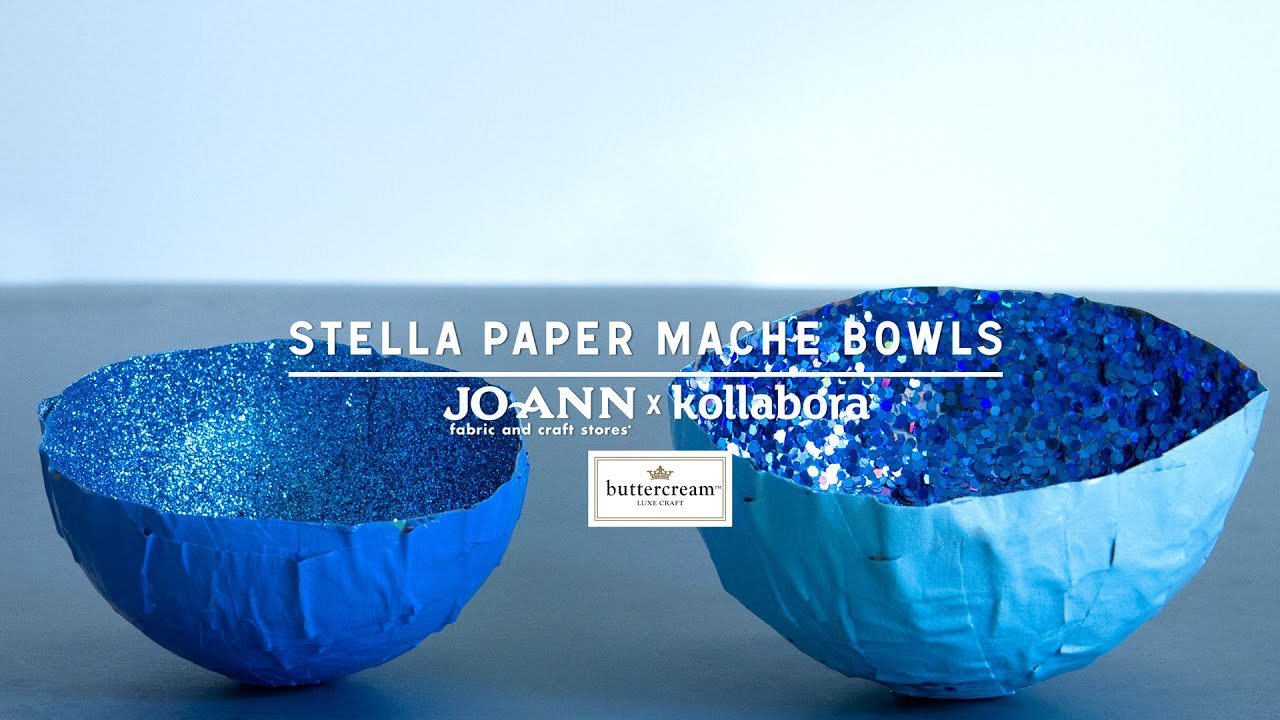 How to make paper mache bowls youtube for How to make a newspaper bowl