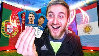 MY 1ST WORLD CUP PACK!