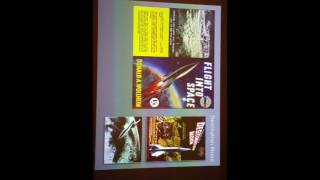 Talk and Keynote Presentation from world renowned Space Artist, David A Hardy
