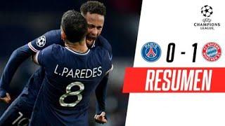 ¡EL CAMPEÓN GANÓ UN PARTIDAZO, PERO CLASIFICARON LOS FRANCESES! | PSG 0-1 Bayern Munich | RESUMEN