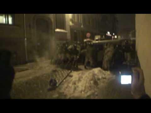 Riots in Riga, Latvia