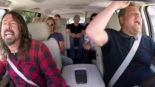 The Foo Fighters Confess Filming 'Carpool Karaoke' Was 'A Little Uncomfortable'