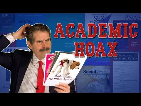 Brian Taylor - Video:  Professors Dupe Journals Into Publishing Outrageous Junk Research