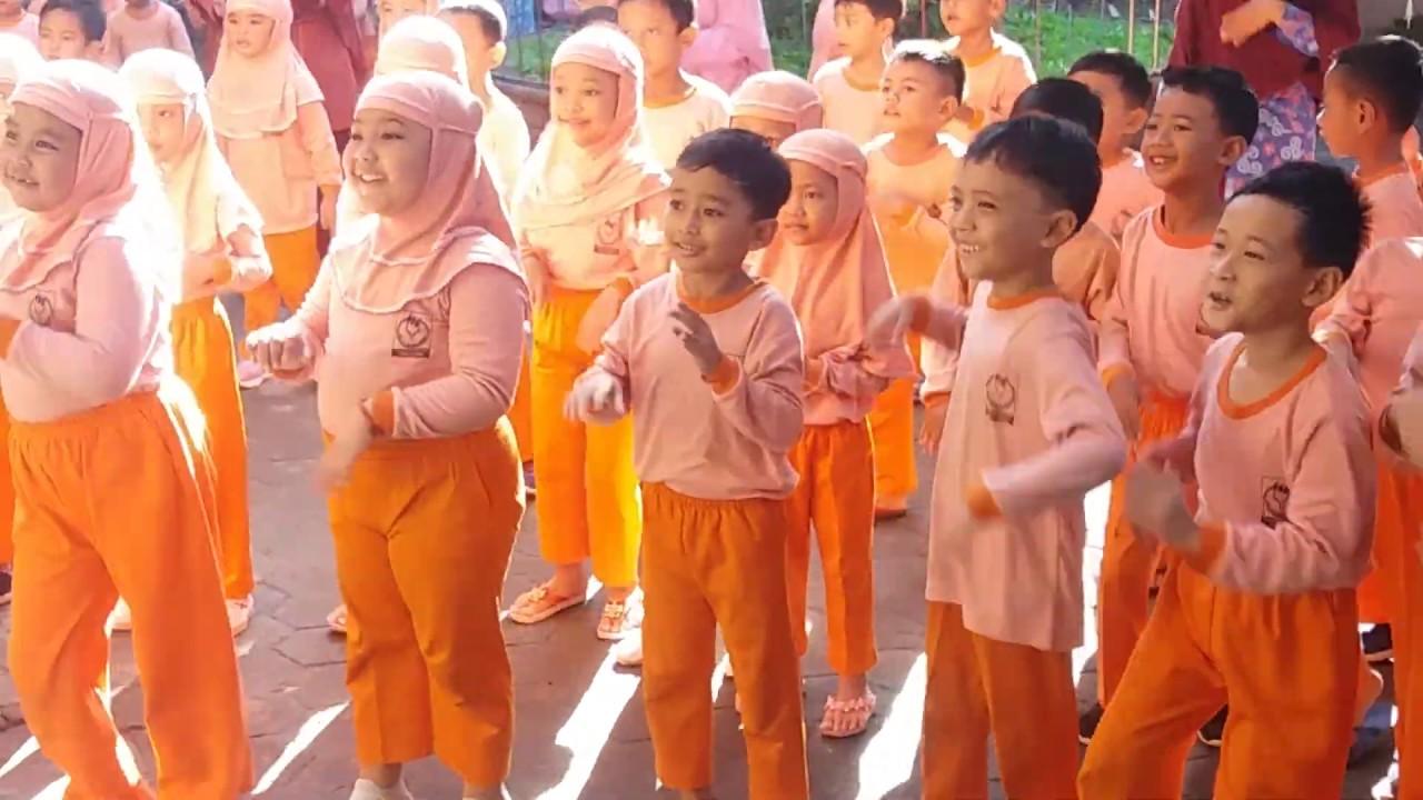 """mensana in corpore sano...!!!"" Senam Anak Indonesia TK ..."