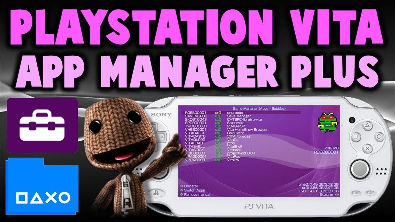 PS Vita App Manager Plus! (Simple Game & App Manager)