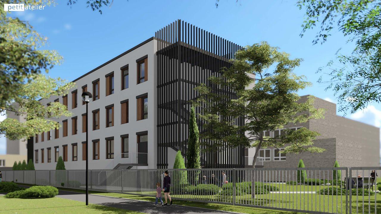 Přístavba bloku ortopedie Karvinské hornické nemocnice