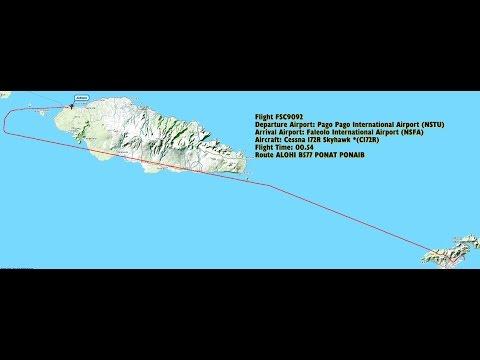 ✈ P3D - NSTU (Pago Pago Int) x NSFA (Faleolo Int) - Samoa's Island