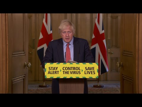 AFP News Agency: PM Johnson says Britain could reopen non-essential retail on June 15 | AFP