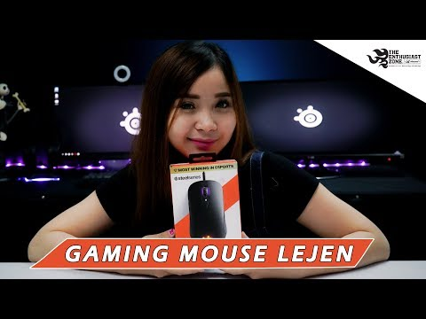 Gaming Mouse Steelseries SENSEI TEN   Review   syivangel   Saints Indo
