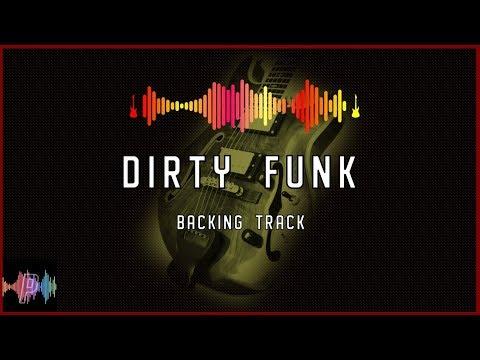 Dirty Funk Guitar Backing Track Jam in G Dorian
