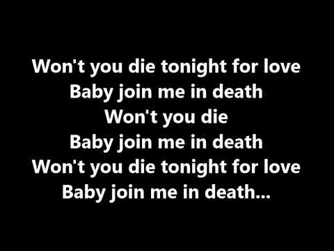 HIM - Join me in Death - karaoke (instrumental+lyrics)