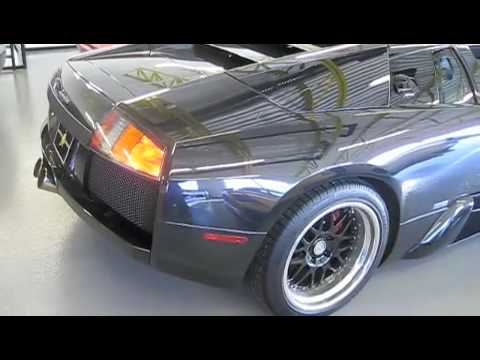 Lamborghini Murciélago Start Up, w/ Tubi Style Exhaust, Short Drive, and Full Review