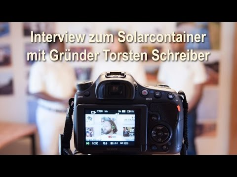 Mobile Solarcontainer - ein Schwarmkraftwerk für Afrika [Deutsch]