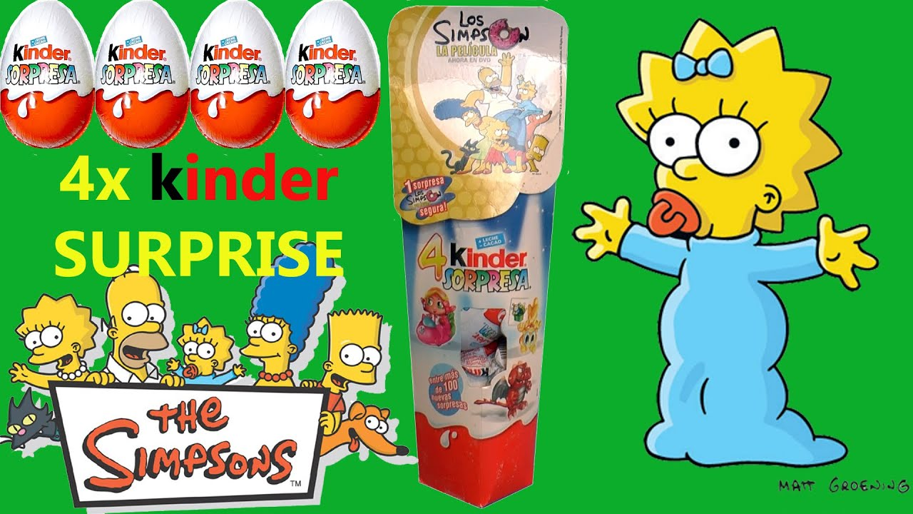 kinder simpsons