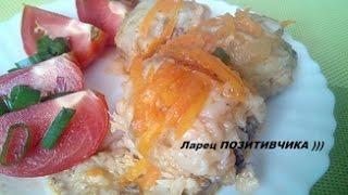 Рыба тушеная с морковью и луком / Fish stewed with carrots and onions