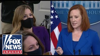 FOX News presses Psaki on progressive influence over Biden