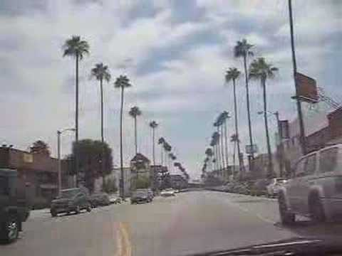 Driving Ventura Blvd. in Studio City