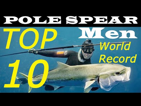 Pole Spear Spearfishing Records IUSA - Men Category - World Records