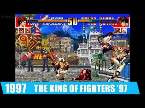 【KOF14参戦記念】ユリ・サカザキ 進化の歴史Evolution 1