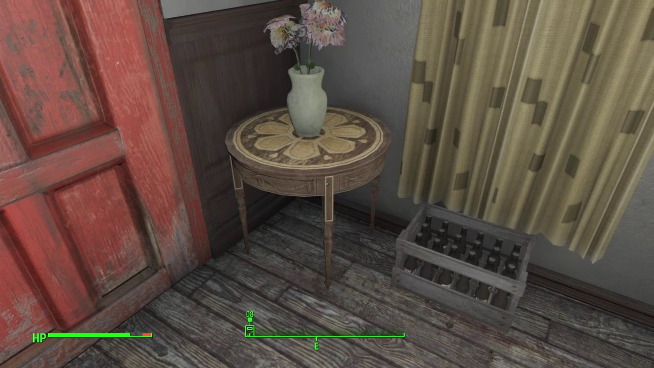 Fallout 4 Pre War House Mod All Keys Youtube