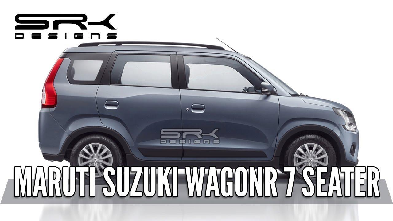 Maruti Suzuki Wagonr 7 Seater Rendering Making Video Srk Designs