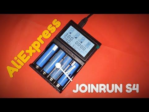 🔋🔋🔋Распаковка зарядного устройства Joinrun S4 с AliExpress👍👍👍