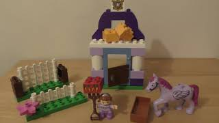 Lego Duplo Sofia the First Royal Stable 10594 Review Build Instruction