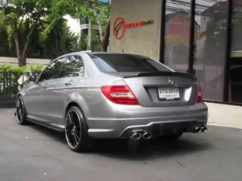 Fi Exhaust full system + Mercedes Benz C200 CGI PART 1
