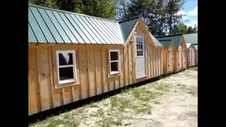 Diy - Build Or Buy This 12x24 Tiny House - Cabin - Cottage  Free Shipping On Pre Cut Kits