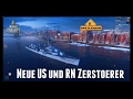 World of Warships Preview  Black, Podwojskij und Ochotnik [ Gameplay - German - Deutsch ]