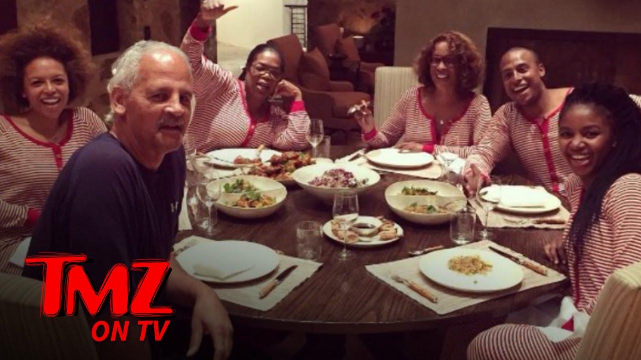 Oprah & Gayle Kick Off Christmas Vacation | TMZ TV - YouTube