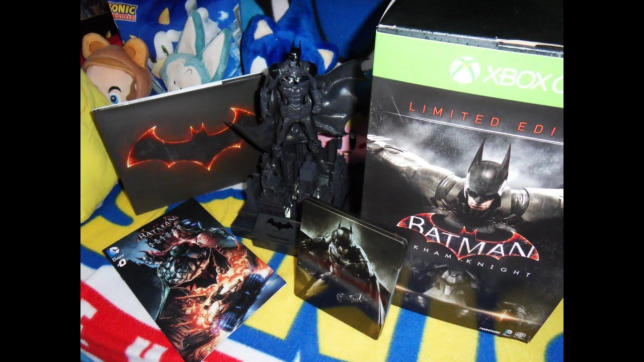 Batman arkham knight collectors edition giveaways