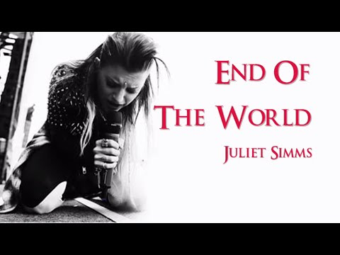 Juliet Simms End Of The World (Instrumental w/ background vocals)