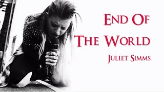 Juliet Simms End Of The World (Instrumental w/ background vocals)