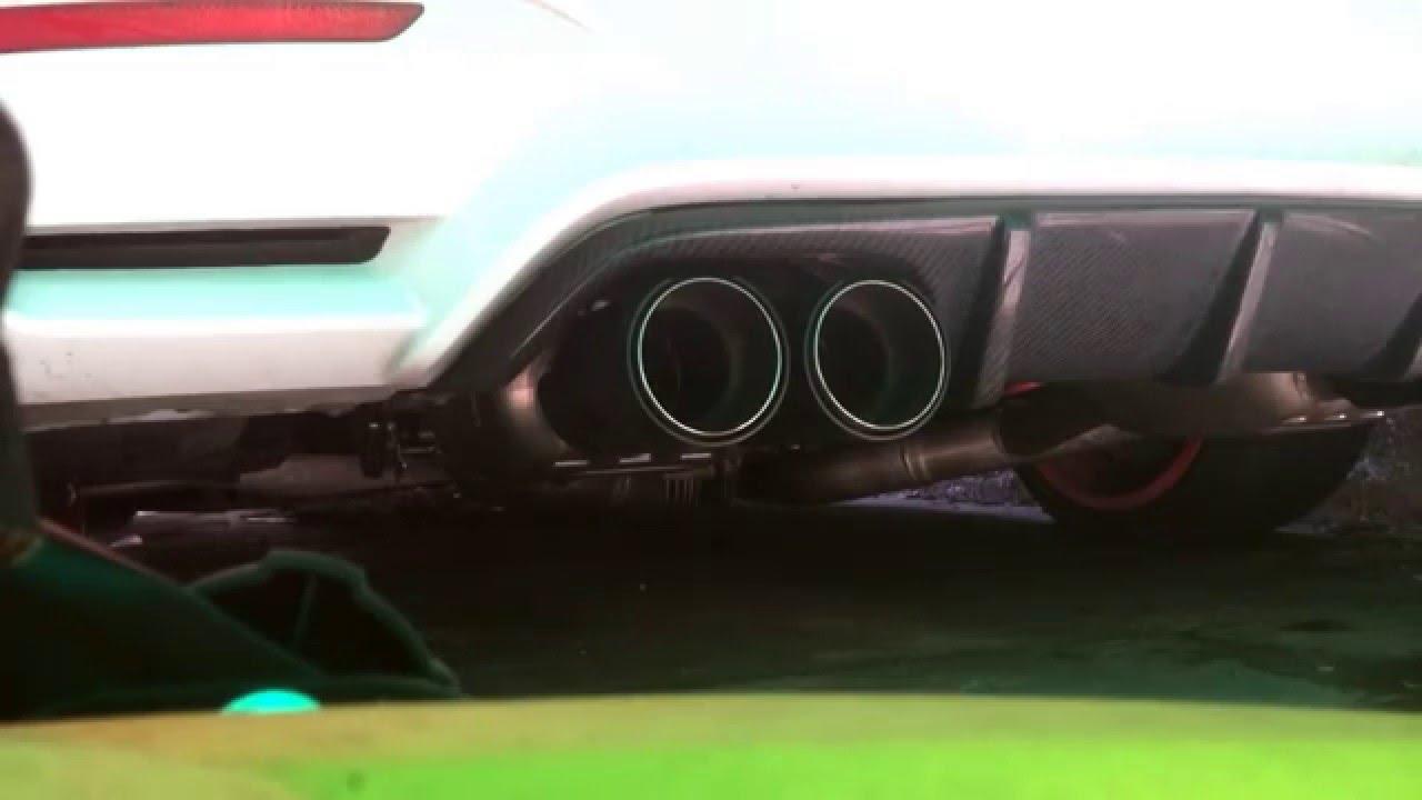 BMW M4 Stage 2 mit 560 HP Eisenmann  Downpipe  YouTube