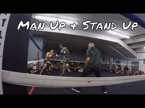 Que Walker Vers Shane Reed | Man Up & Stand Up | March 17, 2018